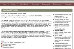 Content & Organization for School District Site Download PDF